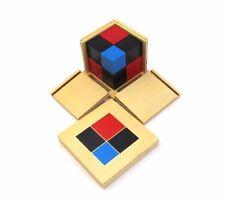 New Montessori Sensorial Materials - Binomial Cube