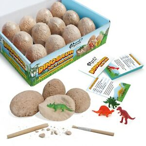 Virginia's Store Dinosaur Dig and Discover Kit with 12 Fun Fact Cards…