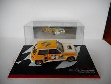 Die cast 1/43 Renault 5 Turbo Genito OrtisRamon Minquez 1983 M B   by Ixo
