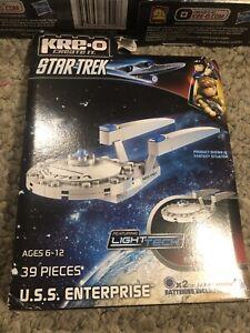Kre-O Star Trek Lot Of 3 Klingon Battle Cruiser Uss Kelvin And Enterprise New