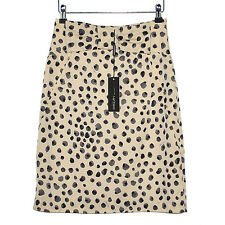 MARC CAIN Jupe Noeud Chic Viscose Coton Taille 2 Classic Skirt 36-38FR