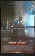 Wondercon 2012 Abraham Lincoln Vampire Hunter Lenticular 3D Mini Poster New