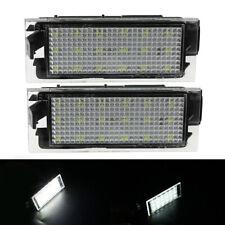 1 Pair LED Number License Plate Lights For Renault Clio Laguna Megane 8200480127