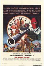 THE HUMAN FACTOR Movie POSTER 27x40 George Kennedy John Mills Raf Vallone Rita