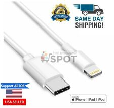 Lightning to USB-C USBC Cable for Apple iPhone iPad to USB3.1 Type-C Charge Sync