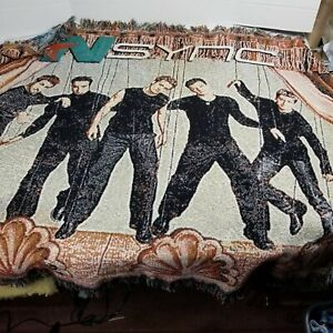 "THE NORTHWEST COMPANY VINTAGE NSYNC THROW 46""X60"""