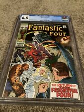 FANTASTIC FOUR #94 CGC 6.5- WHITE PAGES- 1ST. APP. AGATHA HARKNESS