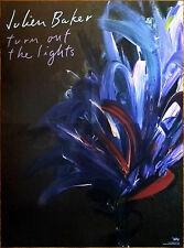 JULIEN BAKER Turn Out The Lights 2017 Ltd Ed HUGE RARE Poster +FREE Indie Poster