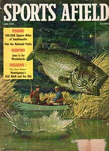 1958 Sports Afield June - Ernest Hemingway and the making of Old Man and the Sea