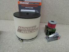 NEW 05-13 HONDA TRX500 FOREMAN 500 TUNE UP KIT AIR FILTER OIL FILTER SPARK PLUG
