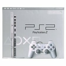 PlayStation 2 Slim Console Silver PS2 Very Good 7Z