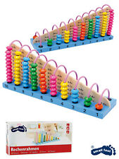 Wooden Abacus Educational Learning Maths Kids Childrens Counting Beads Toy