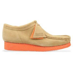 Clarks Originals - New Wallabee Shoes - Light Tan Suede - BNIB