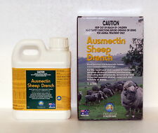 Ausmectin (Ivermectin) Broad Spectrum Oral Sheep Drench 1-L (equiv Ivomec)