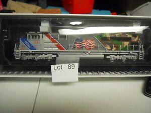 Lot 89: Union Pacific FLAG #1943 SD7070ACe  Locomotive Proto 3 DCC & Sound HO