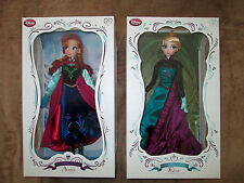 """Disney Frozen Coronation Elsa and Snow Anna 17"""" Limited Edition Doll LE 5000"""