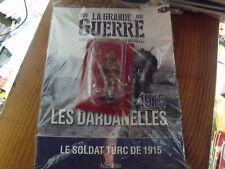 µ? Revue + figurine Soldat Turc 1915 La Grande Guerre 14/18 n°8 Dardanelles 1915