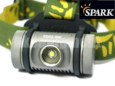 Spark SD52-NW Cree XM-L2 T5 Neutral White Floody Headlight Headlamp Magnet+Clip