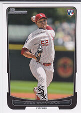 Jose Quintana Chicago Cubs 2012 Bowman Draft Baseball Rookie Card
