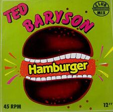 TED BARYSON - Hamburger / Alone In The City - F1 Team - DM 9616 - 1983 Ita