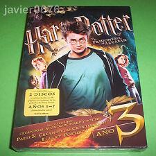 HARRY POTTER Y EL PRISIONERO DE AZKABAN NUEVO Y PRECINTADO 2 DISCOS DVD + LIBRO