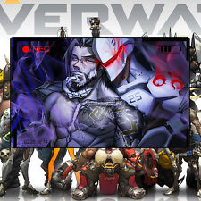 Overwatch Genji Hanzo Mat OW Thicker Competitive Gaming Mouse Pad 60*30cm