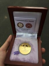 University of the Philippines College of Law Centennial Medal Gold-Plated Coin