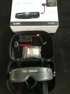 Fatshark Teleporter V4 FPV goggles with antenna battery and Fatshark Diopter set