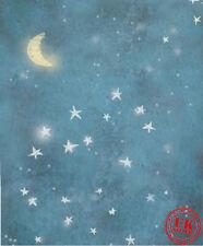 Blue Star Dream NOTTE BABY Sfondo Sfondo in vinile foto di scena 5X7FT 150X220CM