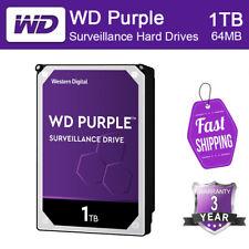 """Brand New WD Purple WD10PURZ 3.5"""" 1TB SATA 6 Gb 64MB Surveillance Hard Drive"""