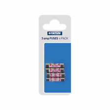 Status 3asfb10 3 Amp Fuses Pack of 4