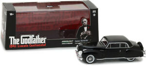 GREENLIGHT 86507 LINCOLN CONTINENTAL 1941 model car from The Godfather 1972 1:43