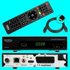 HD DVB-T2 Receiver ✔ Xoro HRT 7619 ✔ HEVC ✔ H.265 ✔ USB ✔ HDTV ✔ LAN ✔ DVB-T 2 ✔