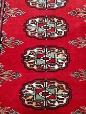 $689 Hand-knotted Carpet 3x5 Finest Peshawar Bokhara Traditional Wool Area Rug