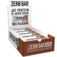 BioTechUSA Zero Proteine Barra 20x50g 9 Sapori Nativo Siero Latte Isolare Egg