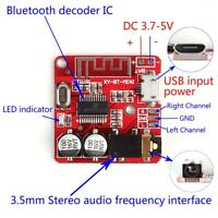 Mini MP3 Bluetooth 4.1 Lossless Decoder Board Car Speaker Amplifier