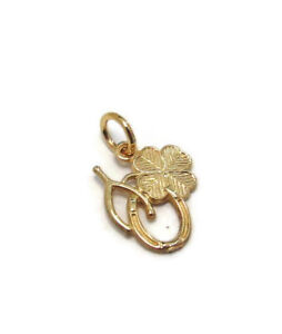 Lucky  Charm Pendant Yellow Gold!!