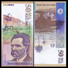Colombia 50000 50,000 Pesos, 2002, P-455, UNC