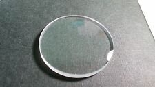Unbranded Sapphire Crystal, dome, 34.75mm x 3.17 thick -straight Edge