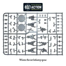 Soviet Winter Infantry with Bases, Bolt Action, Warlord Games