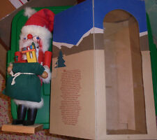 wooden nutcracker for repair holiday Christmas Santa Claus Nutcracker Village