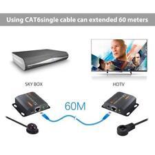 Neoteck-HDMI-Extender-mit-IR-Verlaengerung-60M-HDMI Repeater 1080P 3D HDMI Ether