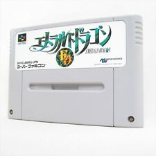 Super Famicom EMERALD DRAGON SNES Nintendo Import Japan Cartridge Only sfc