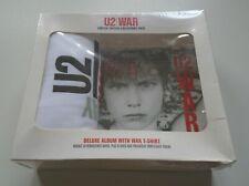 U2 War Collectors Edition 2008 UK limited remastered 2-CD + t-shirt SEALED