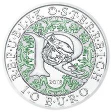 10 Euro 2018 Österreich Himmlische Boten - Raphael - Spiegelglanz  PP