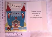 Boy and Girl Ages 2, 2nd,  3 3rd  & 4 4th Birthday Cards 23 Designs