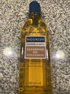 Trader Joe's Nourish Shower and Bath Cleansing Oil With Almond Moisturizer