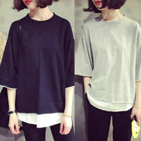 Women shirts Korean Casual Short Sleeve Girl's T-shirt Loose Blouse Tee Tops