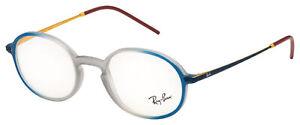 Ray-Ban Eyeglasses RX 7153 5821 50 Grey,Blue Frame [50-21-145]