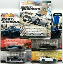 HOT WHEELS 2020 FAST & FURIOUS PREMIUM FAST EURO COMPLETE SET OF 5 CAR IN STOCK